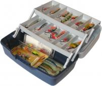 Ящик 2х-полочный Aquatech 1702T Прозрачная крышка