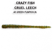 Crazy Fish CRUEL LEECH кальмар 5.4см 8шт 8-5.5-42-6