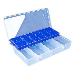 Коробка Aquatech со скользящей полкой (215 x 120 x 45 мм).