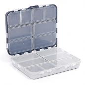 Коробка Aquatech двойная 16 ячеек с крышкой (120 x 100 x 35 мм)